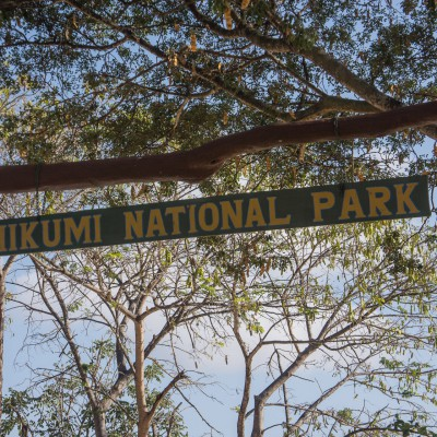 Main entrance to Mikumi National Park